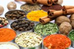 A photo of colourful spices