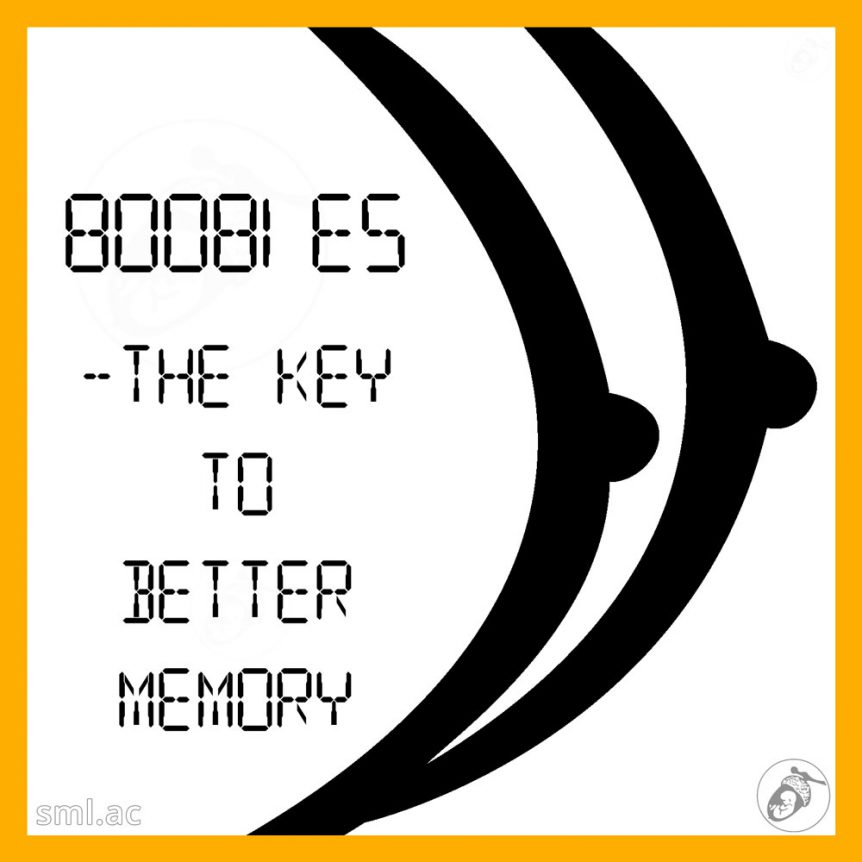 Boobies- the Key to Better Memory