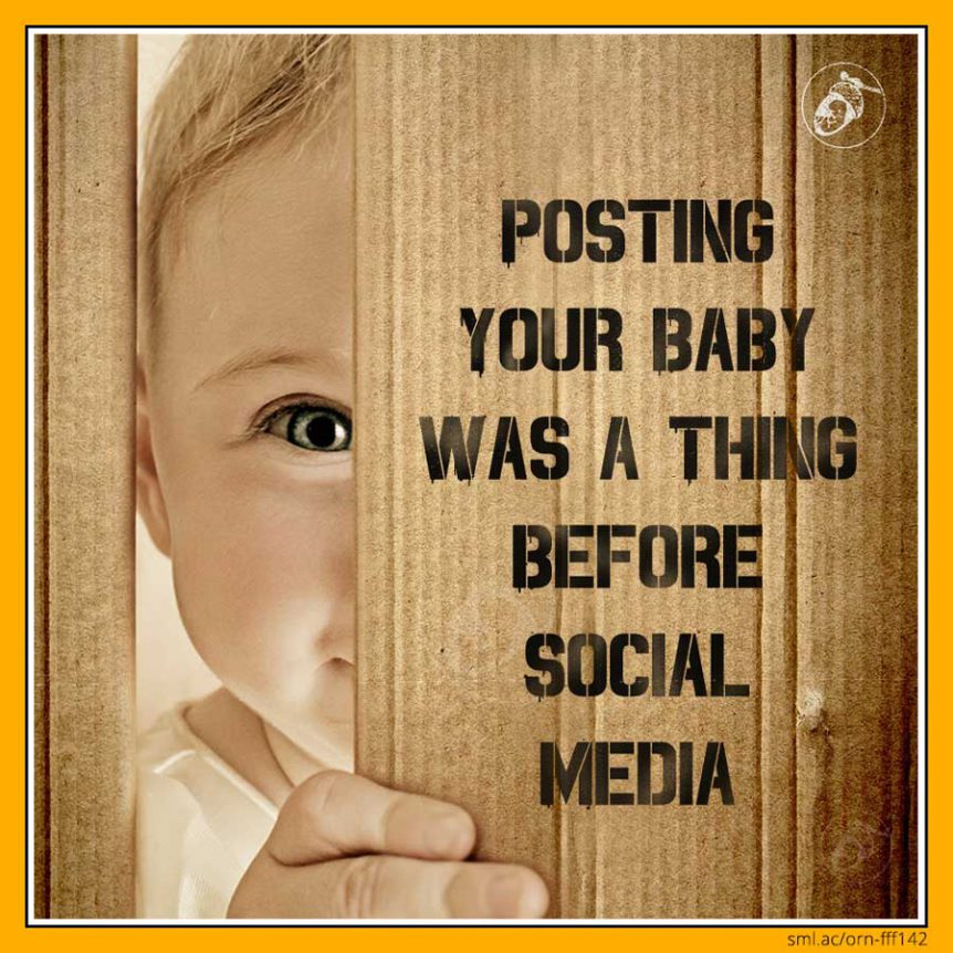 Posting Your Baby Was a Thing Before Social Media!